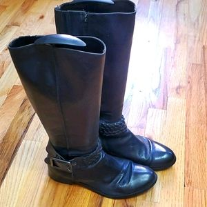 Leather rider boots Davos Gomma
